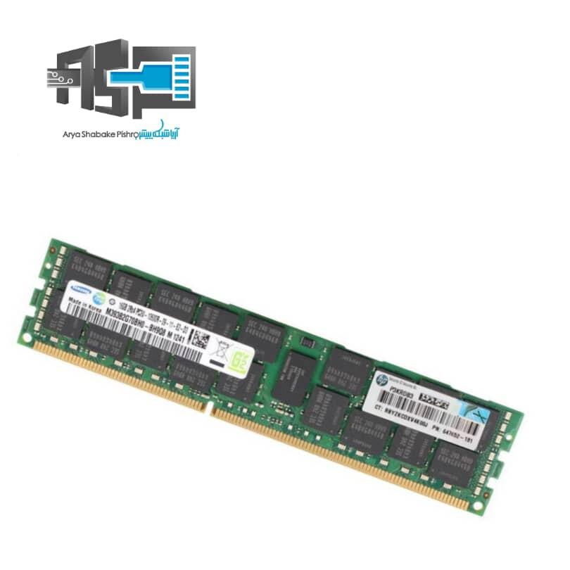 رم سرور اچ پی  16 گیگابایت RAM 16GB -10600R
